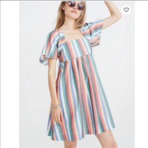 Madewell Mini Dress In Festival Stripe XXS